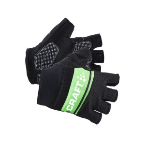 Craft Classic Mens Cyling Gloves - Black/Gecko/White