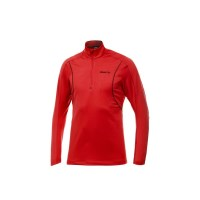 Craft Performance Mens Lightweight Stretch Training Pullover - Red